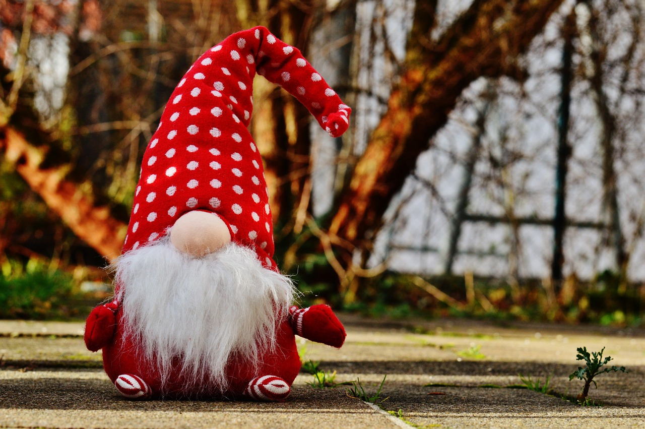 Tomte lutins gnome scandinave