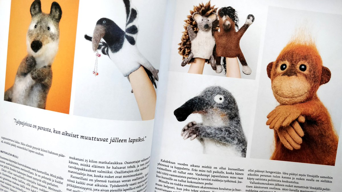 Yara bibabo - article marionettes feutre