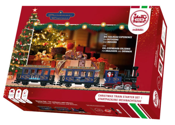 Train de Noël Marklin LGB pack