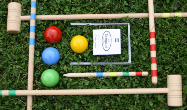 Croquet bois made in France